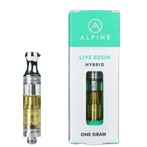 Buy Alpine Live Resin Cartridge