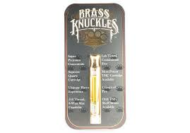 Buy Brass Knuckles Premium Cannabis Cartridge