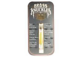 Buy Brass Knuckle Vape Cartridge