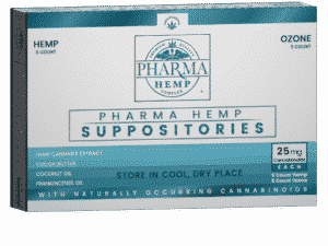 Buy Hemp CBD Suppository 25mg