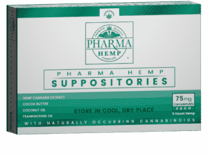 Buy Hemp CBD Suppository (75mg) Online