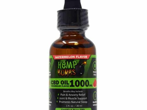 Hemp Bombs CBD Oil